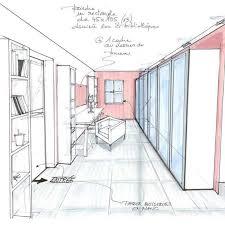 comment dessiner une chambre attrayant comment dessiner une chambre en perspective 11 dessin