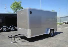 enclosed trailer exterior lights enclosed light pewter metallic 6 x 12 atc cargo trailer