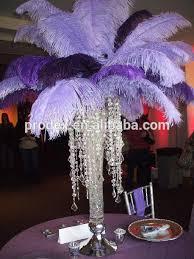 ostrich feather centerpiece wedding candelabra centerpiece ostrich feather centerpiece