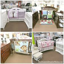 Sears Baby Beds Cribs Getting Ready For A Baby With Sears Canada Munchkins