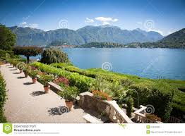Lake Como Italy Map Villa Carlotta Lake Como Italy Stock Photo Image 53499994