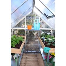 6ft X 8ft Greenhouse Palram Nature Hybrid Greenhouse Hayneedle