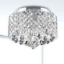 semi flush mount crystal chandelier u2013 edrex co