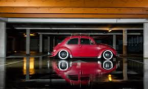 red volkswagen beetle slammed vw beetle vw beetles beetles and volkswagen