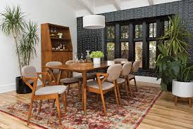 Floor Dining Table Mod Extension Dining Table Living Spaces