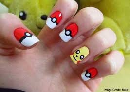 easy nail art characters pokémon go characters nail art style ideas to bring the game to
