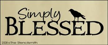 simply blessed simply blessed primitive stencil crafts