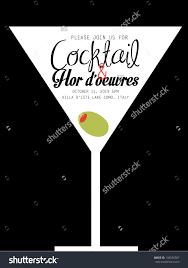 design templates invitation templates cocktail party invitation