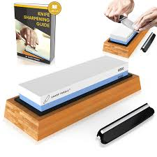 Amazon Knives Kitchen Premium Knife Sharpening Stone 2 Side Grit 1000 6000 Waterstone