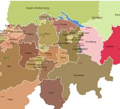 map germany austria d a ch map germany austria switzerland for powerpoint