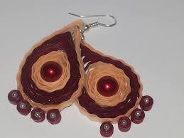 eco earrings quilling earrings cost beautify themselves with earrings