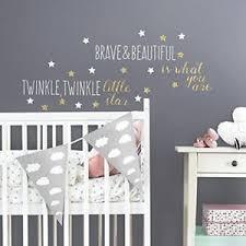 Nursery Rhyme Wall Decals Twinkle Wall Decals Room Decor Nursery Rhyme Stickers