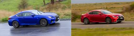lexus rc 300 vs rc 350 lexus rc350 vs lexus rc f practical motoring