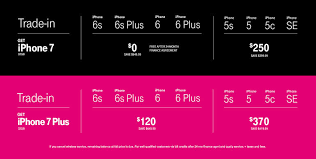 tmobile black friday deals t mobile u0027s free iphone 7 offer requires upfront costs and lots of