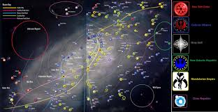 Galaxy Map Galactic Map Image Star Wars Roleplay Group Mod Db
