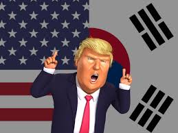 Flag Of South Korea How President Trump Will Affect South Korea Neon But More