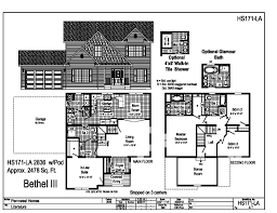 floor plans for 2 story homes pennwest 2 story modular bethel iii hs171la find a home