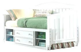 White Daybed With Storage Daybed With Storage Day Bed With Storage Daybed Storage Plans