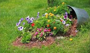 Flower Garden Ideas Pictures Broken Pot Ideas Recycle Your Garden