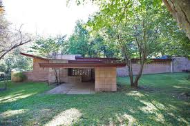 frank lloyd wright style homes for sale frank lloyd wright 1953 house asks 455k after restoration curbed