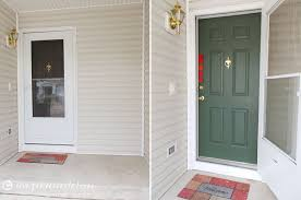 painting your front door the easy way the diy village terrific painting your front door green ideas exterior ideas 3d