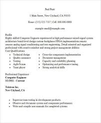 technical resume templates computer engineering resume 30 modern engineering resume templates