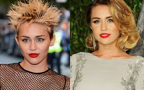 what is the name of miley cryus hair cut miley cyrus s hair we rank the good the bad and the spikey