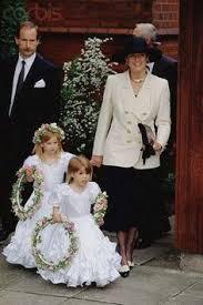 prince andrew duke of york and his bride sarah ferguson royal