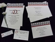 Damask Wedding Invitations Damask Wedding Invitations Ebay