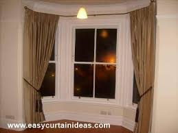 How To Hang Bay Window Curtains 47 Best Bay Window Curtain Rods Images On Pinterest Bay Window