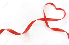 heart ribbon heart ribbon stock photo picture and royalty free image