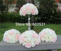 Flower Ball Spr Pink White 2017 10pcs Lotwedding Table Flower Ball