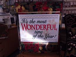 Designs Of Wall Hanging With C D The Most Wonderful Time Of The Year Wall Hanging