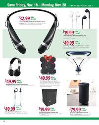 black friday bluetooth stereo headphones bj u0027s wholesale black friday ads sales deals 2016 2017