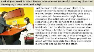 How To Answer Resume Questions 150 Sales Interview Questions And Answers Video Dailymotion