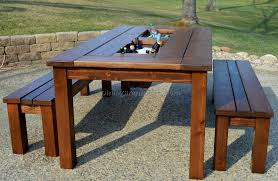homemade modern dining rooms diy outdoor dining table photo contemporary dining