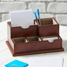 Leather Desk Organizers Desks Desk Organizer Desk Accessory Tray Mini Desk Organiser