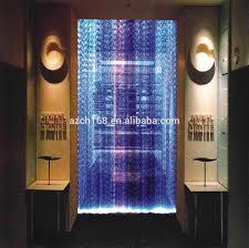 indoor decorative fiber waterfall light curtain water rain curtain