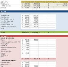 Financial Spreadsheet Free Budget Templates In Excel For Any Use