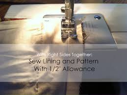 Sewing Curtains With Lining Quick And Easy Lined Curtains