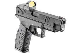springfield xdm 9mm 4 5 full size osp optical sight pistol black