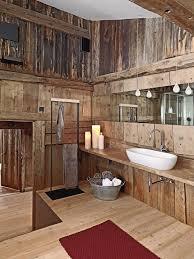 rustic cabin bathroom ideas 17 chic and wooden bathroom interiors rustic cabin