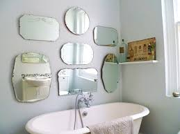 Bathroom Mirrors Chrome by Chrome Metal Wall Mount Faucet Mixed Decorating Bathroom Mirrors