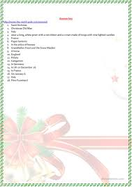 christmas around the world worksheet free esl printable