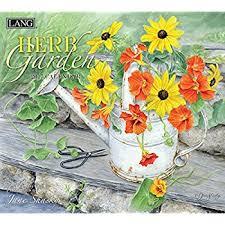 amazon com lang herb garden 2016 wall calendar by jane shasky