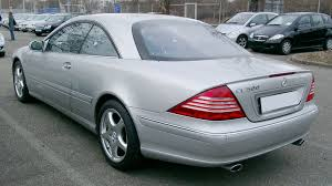 mercedes benz klasy cl wikiwand