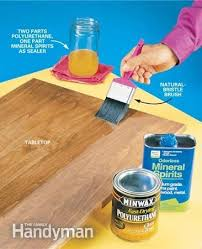 how to apply polyurethane woodworking smooth and woods