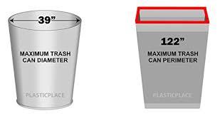 amazon plasticplace 95 gal trash bags black 2 mil 61x68