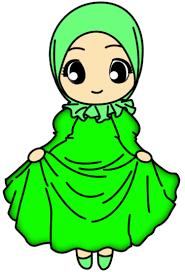 freebies doodle muslimah aisy