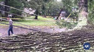 video tropical storm irma rips georgia